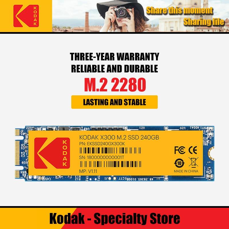 Kodak Internal Solid State Drive M2 SSD 120gb 240gb 480gb  HD NVMe SSD Hard Drive HDD Hard Disk X300 Solid State PCIe For Laptop
