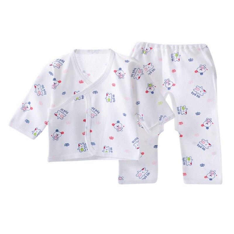 Newborn Baby Sets Infant Underwear Set Unisex Clothing Suit Autumn Winter Baby Clothes Set T-shirt+Pants 2pcs