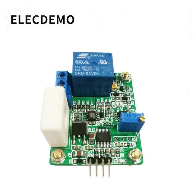 Модуль датчика тока WCS1800, модуль обнаружения переменного тока постоянного тока 30 А, последовательный выход, защита от перегрузки по току