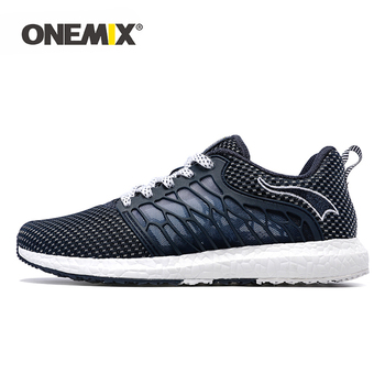 ONEMIX Unisex Running Shoes Breathable Mesh Men Athletic Shoes Super Light Outdoor Women Sports Shoes Male Walking Jogging Shoes
