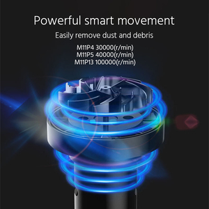Image 3 - Dropshipping Car Vacuum Cleaner Black With 5000Pa/4000Pa For Car Portable Wireless Handheld Vacuum And Home Clean