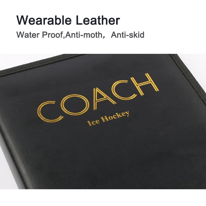 Street Hockey Coach Tool Erase Marker With Eraser Blank PU Ice Hockey Coach Train  Pocket Size Ice  Roller Teacher  Products