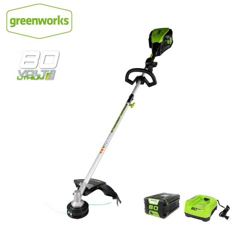 Greenworks 80V 16-Inch Cordless Brushless Top Mount String Trimmer Grass Trimmer Battery And Charger Not Include, Free Return