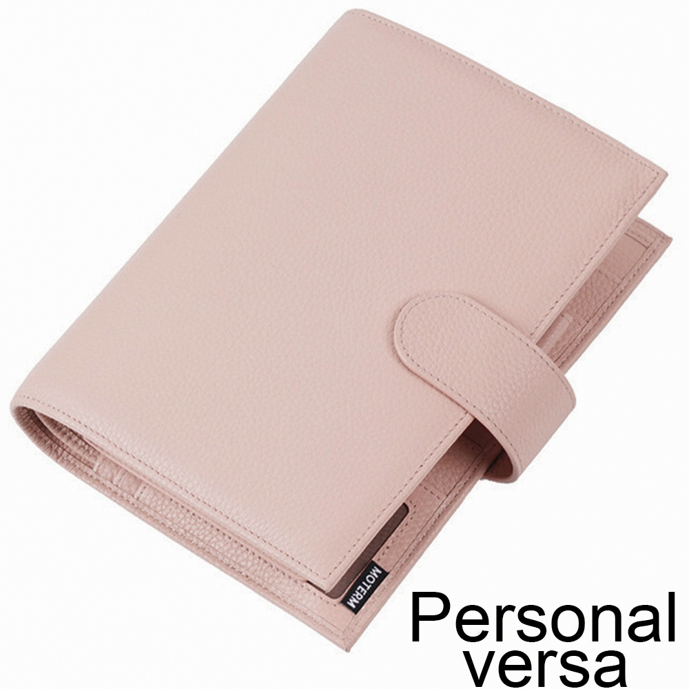 Moterm Personal Versa Planner with 25 mm Rings Litchi Style Multifunctional Agenda Organizer Diary Journal Notepad Sketchbook 1