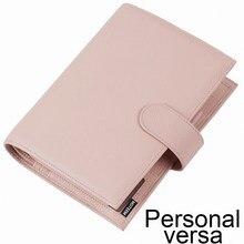 Moterm Personal Versa Planner с 25 мм кольцами, стиль Litchi, многофункциональный журнал органайзера, дневник, блокнот, альбом