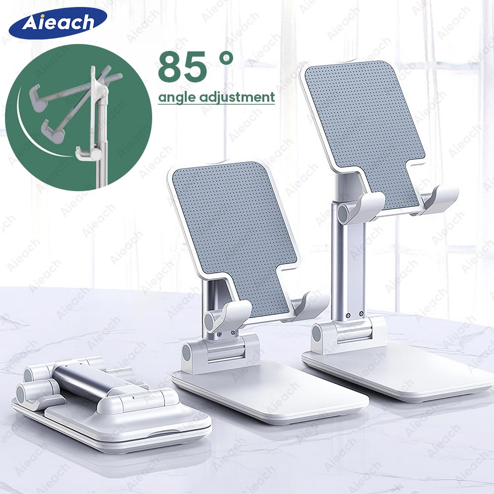 Aieach Desktop Tablet Stand For iPad Pro 11 2020 10.5 Air 3 10.2 Mini Adjustable Foldable Soporte Tablet Holder For iPad Stand