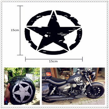 styling ARMY Star Decals Motorcycle Stickers Vinyl for SUZUKI GSR600 GSR750 GSX-S750 GSXR1000 GSXR600 GSXR750 image