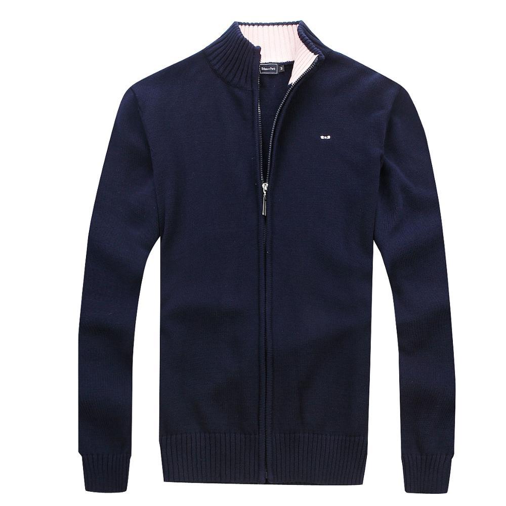 Eden homem cardigan parque homme camisola outono inverno venda superior tamanho m a 3xl clássico casual melhor qualidade frança eden camisola