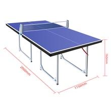 Детский Настольный теннис настольный мини складной настольный теннис простой и портативный