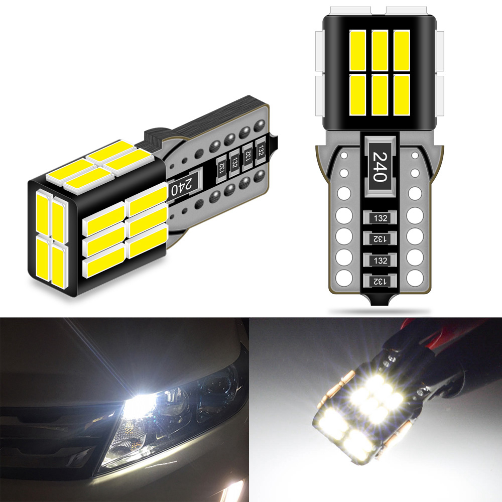 2x Canbus T10 W5W 168 194 LED gümrükleme park ışıkları Mercedes Benz W204 W176 W169 W203 W164 W220 w212 sprinter A C E SLK