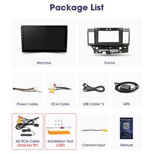 """Image 5 - Vtopek 10.1 """"4G + 64G DSP 2din Android 10.0 samochodowe Radio odtwarzacz multimedialny dla Mitsubishi Lancer 2007 2012 nawigacja GPS jednostka główna"""