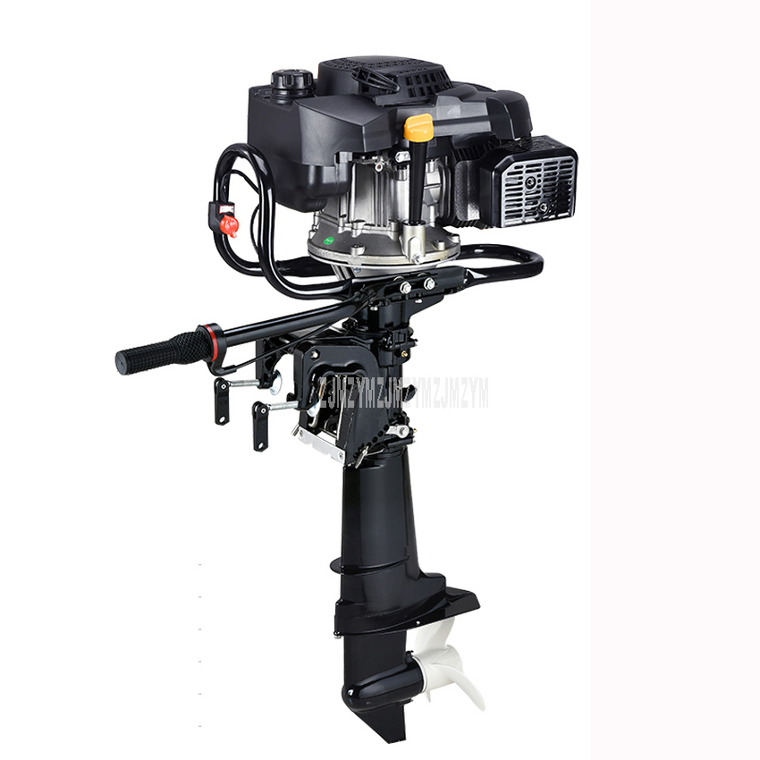 9 Horsepower Boat Outboard Engine Air-cooling Gasoline Fuel Short Shaft Four 4 Strok Outboard Motor For Inflatable Boat