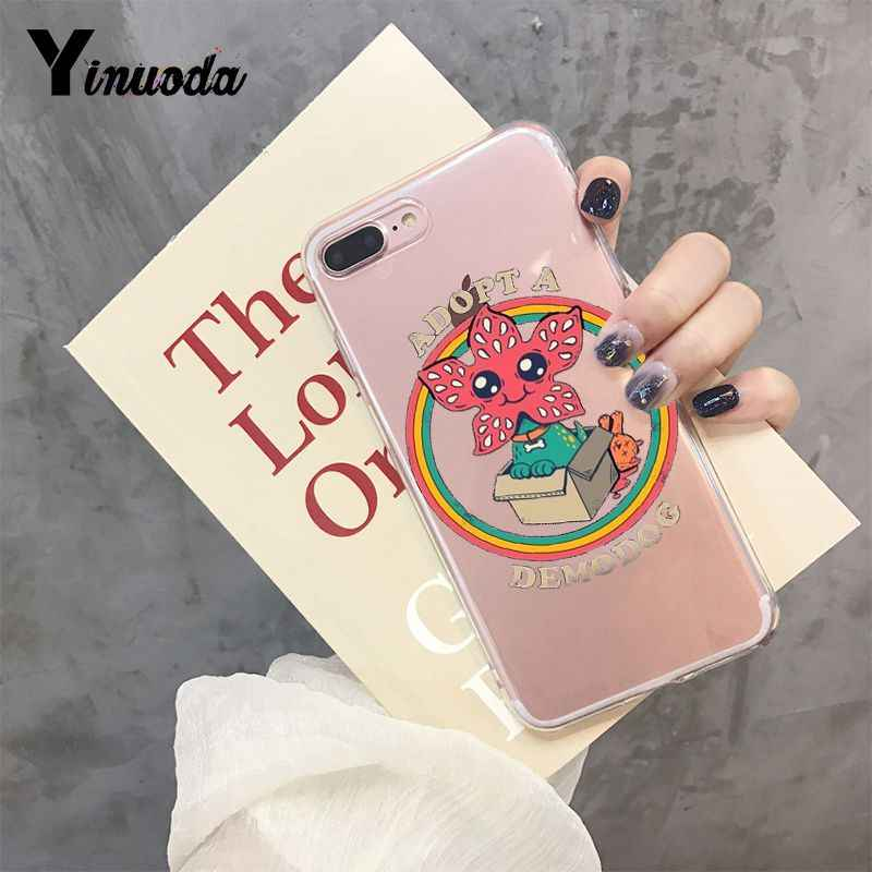Yinuoda Stranger Things Christmas Lights Novelty Fundas Phone Case  for iPhone 6S 6plus 7 7plus 8 8Plus X Xs MAX 5 5S XR 10