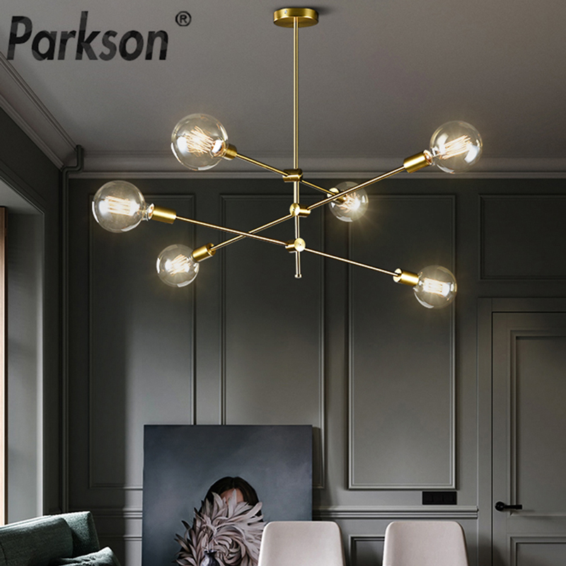 Nordic Modern Pendant Lights Long Pole Designer Pedant Lamp E27 Led Light Bulb Hanging Lamp Ceiling Art Decoration Pendant Light