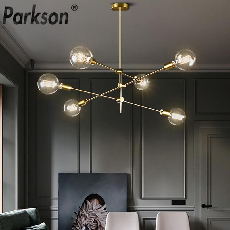 Nordic Modern Pendant Lights Long Pole Designer Pedant Lamp E27 Led Light Bulb Hanging Lamp Ceiling Art Decoration Pendant Light