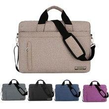 Laptop Bag 13.3 14 15.6 17.3 Inch Notebook Computer Case For Macbook Air Pro 13 Shoulder Handbag Men Women Waterproof Briefcase
