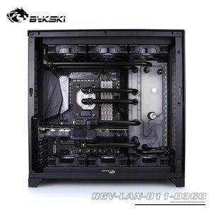 Image 4 - BYKSKI Acrylic Board Water Channel Solution use for LIAN LI O11 Dynamic Case for CPU and GPU Block / 3PIN RGB / Combo DDC Pump