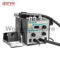 2In1 Original Quick 706W+ SMD BGA Rework Station Hot Air Gun Desoldering Station for Phone Repair Welding Tool