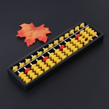 Abacus Soroban Learning-Aids-Tool Beads Math Chinese Educational-Toys School Kid Column