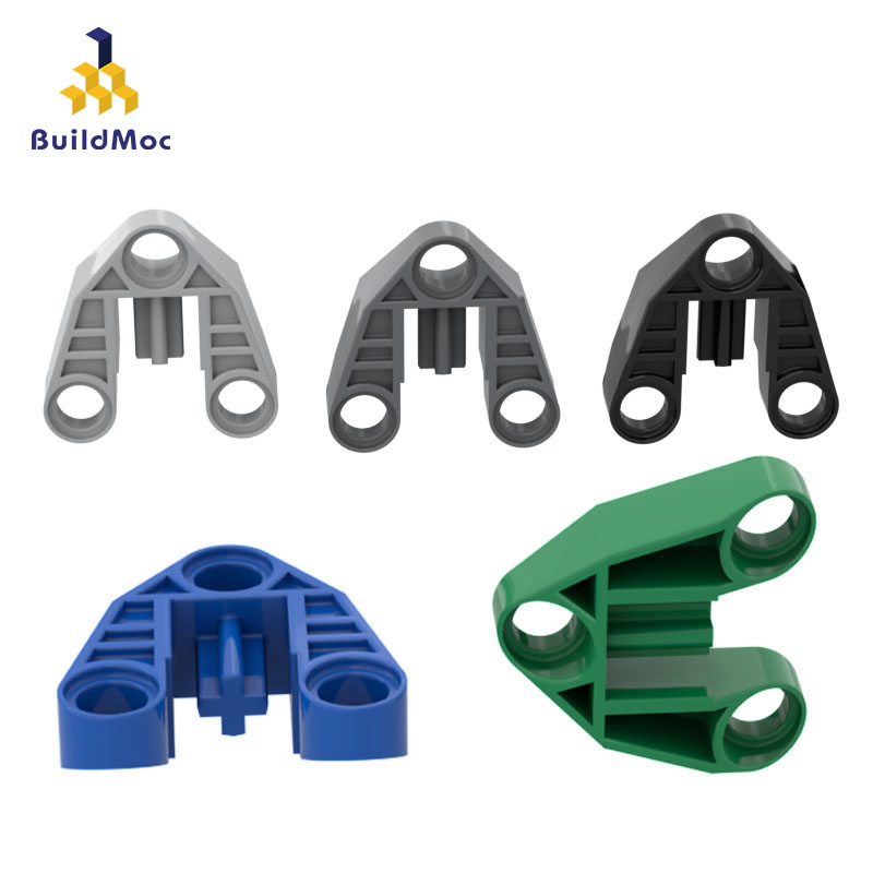 BuildMOC Compatible For Lego32175 Technology 3x3 Special Parts Building Blocks Parts DIY LOGO Educational Creatives Gift Toys