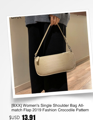 [Bxx] bolsa de ombro único feminino all