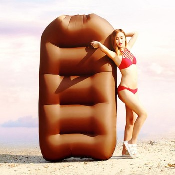 Nylon Folding Inflatable Sofa Bed Air