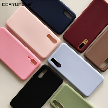 candy color silicone phone case for samsung galaxy f41 a m 51 31 01 12 s 20 21 30 fe plus ultra 5g matte soft tpu back cover image