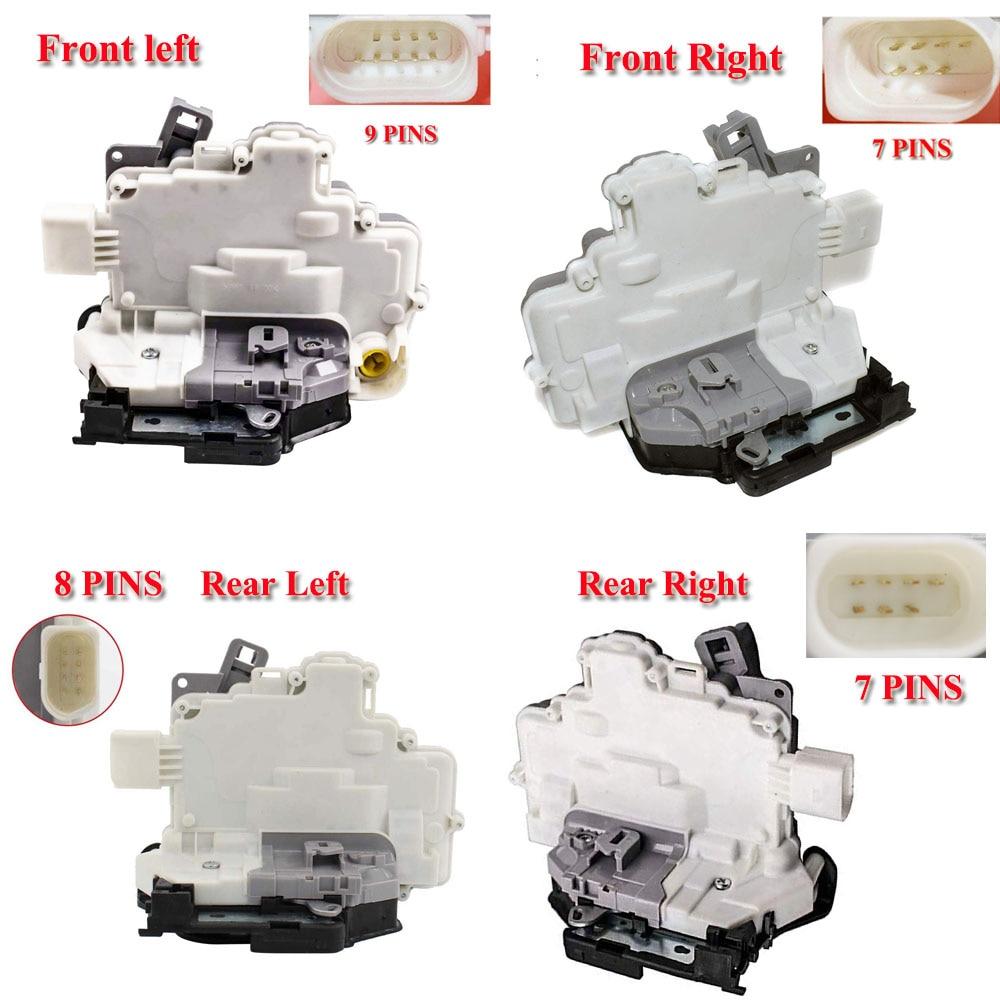 Actionneur de serrure de porte mécanisme Central moteur adapté pour Audi Q3 Q5 Q7 A4 A5 TT B6 8K0839016 8K0839015 8J1837016A 8J1837015A