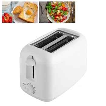 Eu Automatische Elektrische Voedsel Maken Gemakkelijk Brutzeit Broodrooster Funktion 2 Scheibe Extra Rasse Werkzeug Voor gezinnen