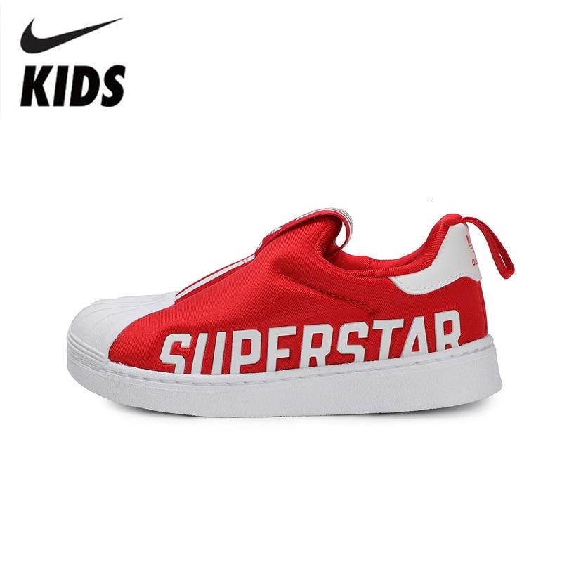 아디다스 슈퍼 스타 360 오리지널 키즈 신발 신착 어린이 통기성 운동화 경량 운동화 # EG3407-에서운동화부터 엄마와 아이 의 title=
