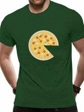 Pizza faltando fatia t mamãe papai & me coordenando camiseta marca moda