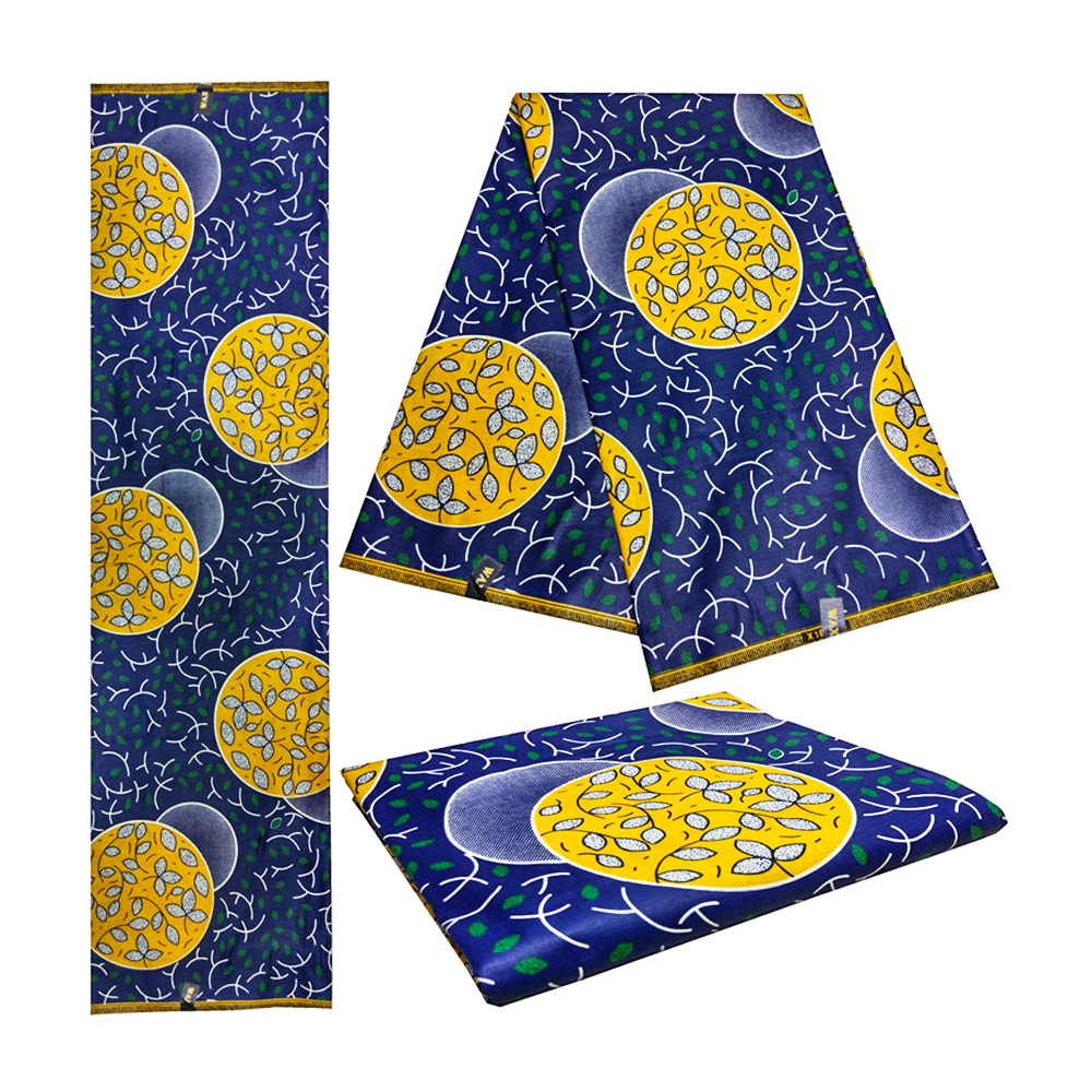 Veritable Real Dutch Prints In Fabric 100% Cotton 6yards/piece African Wax Woman Ankara Soft Breathable Wax Afric