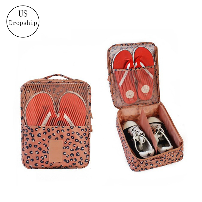 Waterproof Portable Travel Women Shoe Bags Storage Flip Flop Shoes Organizer Bags Travel Luggage Travel Accessories