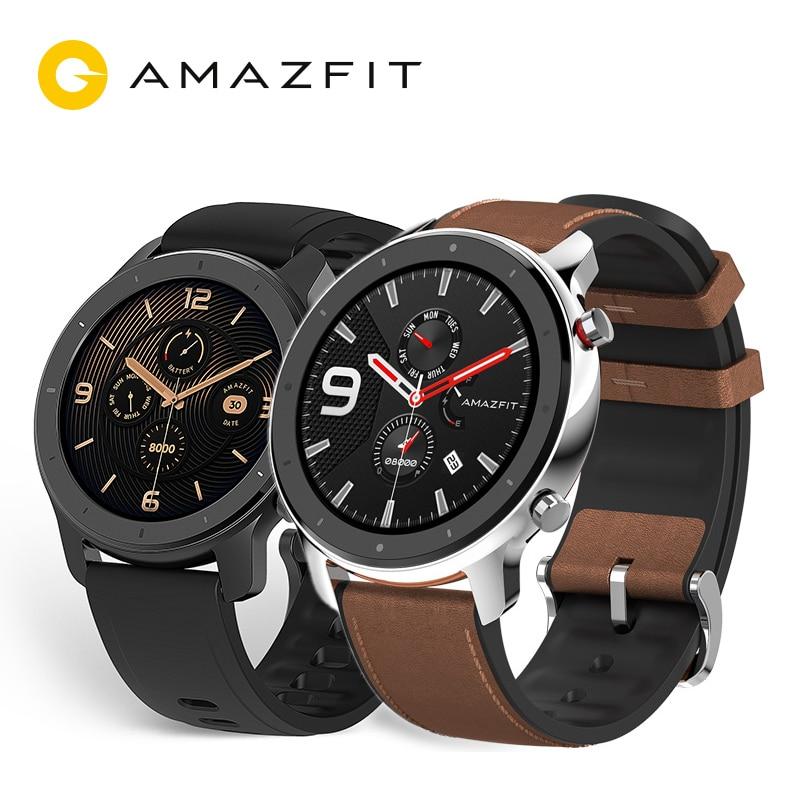 Смарт-часы Xiaomi Amazfit GTR для APP наушники в подарок