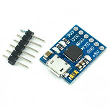 Cjmcu cp2102 micro usb para uart ttl módulo 6pin conversor serial uart stc substituir ft232