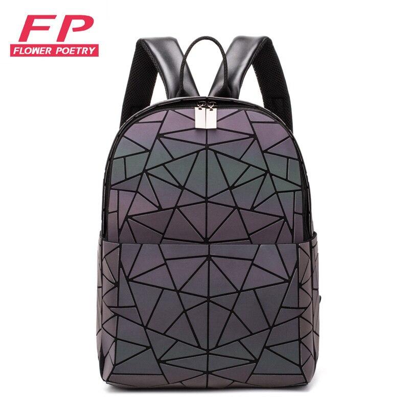 Women Backpack School Bag For Teenagers Girls Large Capacity Backpacks 2019 Travel Bags For School Back Pack Holographic Bagpack