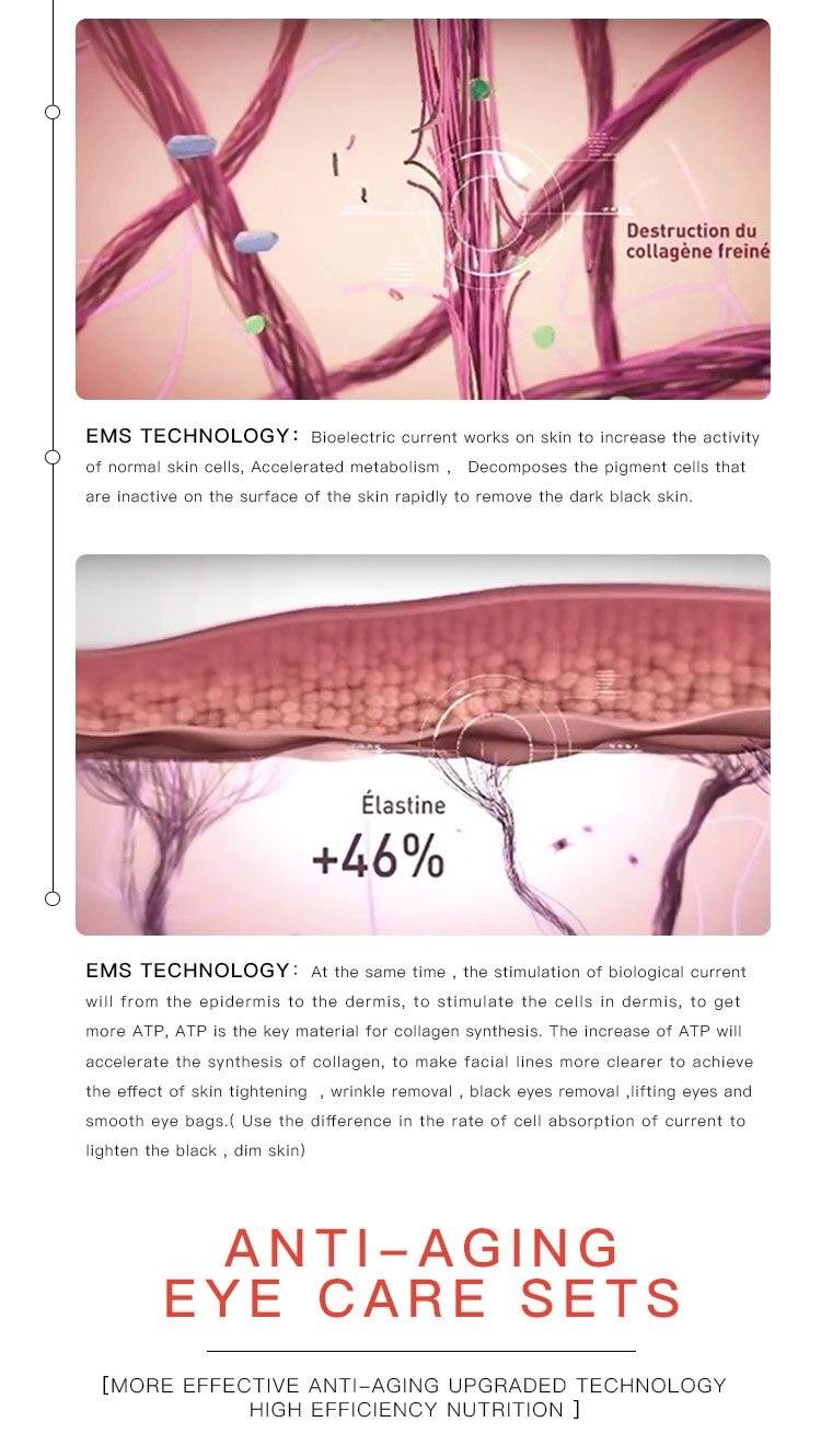 Beleza Instrumento Dispositivo Remover Rugas Olheiras Inchaço