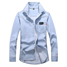 Men #8217 s Autumn And Winter Tops Casual Retro Wash Old And Old Denim Jackets Fall Lapel Casual Long Sleeve Men #8217 s Jacket Top#y5 cheap CN(Origin) Single Breasted coat Regular STANDARD NONE Polyester Wide-waisted Solid Turn-down Collar Conventional Men S Winter Parka