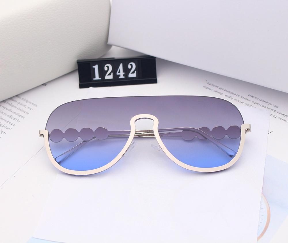 1242 New  Sunglasses  Women   Gradient Vintage Sunglasses   Eyewear  Shades
