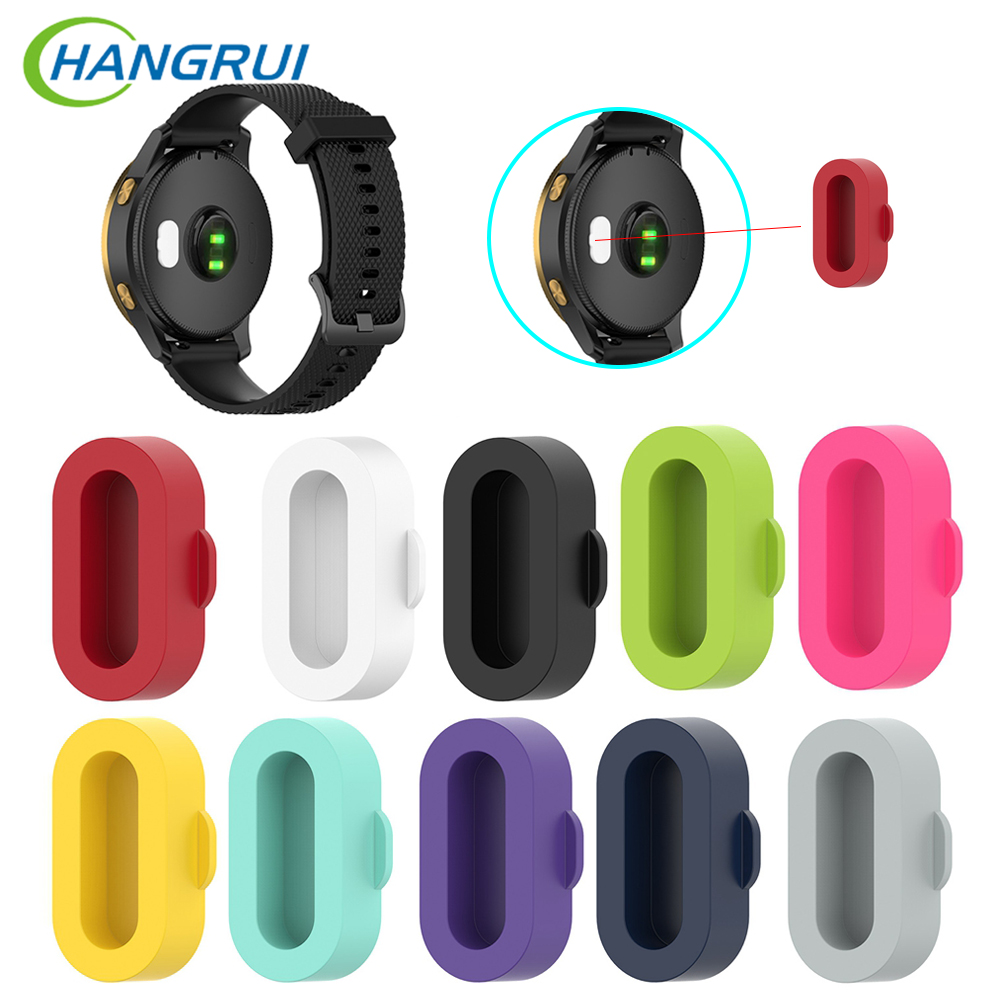 3pc/10pcs Fashion Anti-dust Silicone Cover Dustproof Plug For Garmin Fenix 5 5s 5x Plus Forerunner 935 Vivoactive 3 3S 4 4S Venu