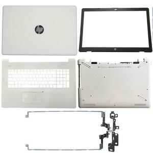 Image 4 - מחשב נייד LCD כיסוי אחורי/קדמי לוח/LCD צירים/Palmrest/תחתון מקרה עבור HP 17 BS/AK/BR סדרת 933293 001 926527 001 933298 001
