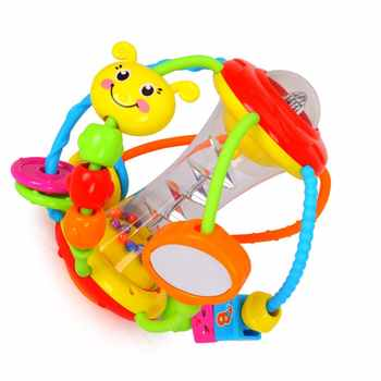 929 Baby Hand Catching Rattle Electric Crawling Toy Visual Sensitivity Training Toy Baby Learning Crawling Toy