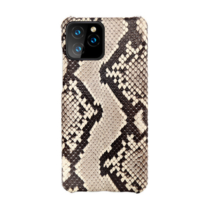 Image 5 - Luxury Genuine Python Leather Back Cover for iPhone 7 8 Plus X XR XS MAX Original Leather Case FHX BY for iPhone 11 11Pro MAX