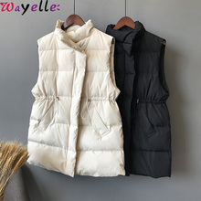 Warm Cotton Vest Women Winter Sleeveless Jacket Female Slim Womens Windproof Waistcoats