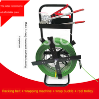 1608 plastic steel packing belt packing machine packing tool packing belt trolley