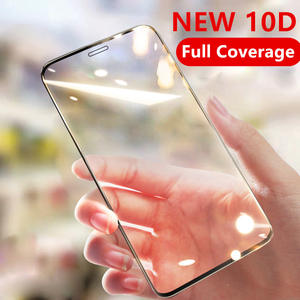 10D Full Cover Tempered Glass For iPhone 6 6s 7 8 plus XR X XS glass Protective Glass iPhone 11 Pro Max Screen Protector