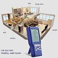CO2 Датчик качества воздуха монитор 5 в 1 для дома формальдегид TVOC HCHO AQI PPM детектор углекислого газа анализатор газа метр