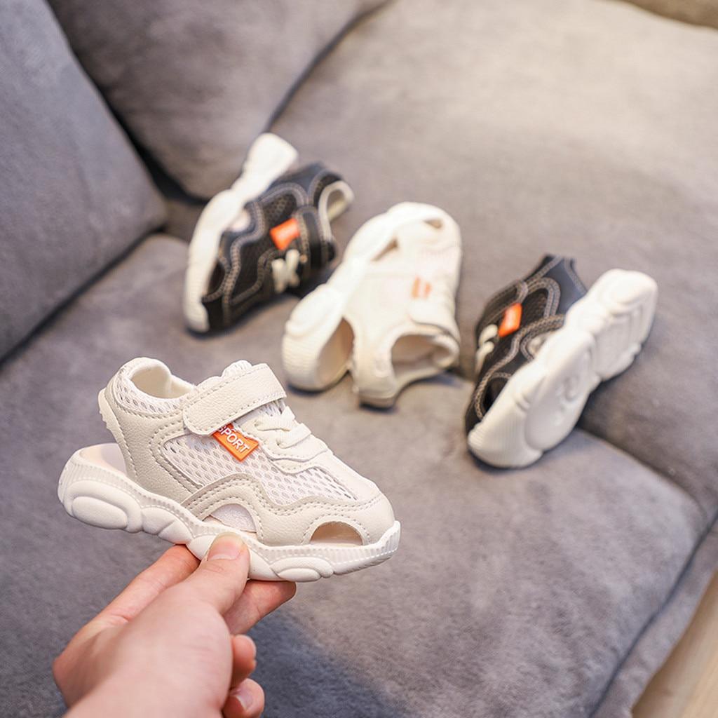 Baby Shoes Summer New Toddler Infant Kids Baby Girl Boys Unisex Breathable Sport Running Shoes Sandals HOOLER