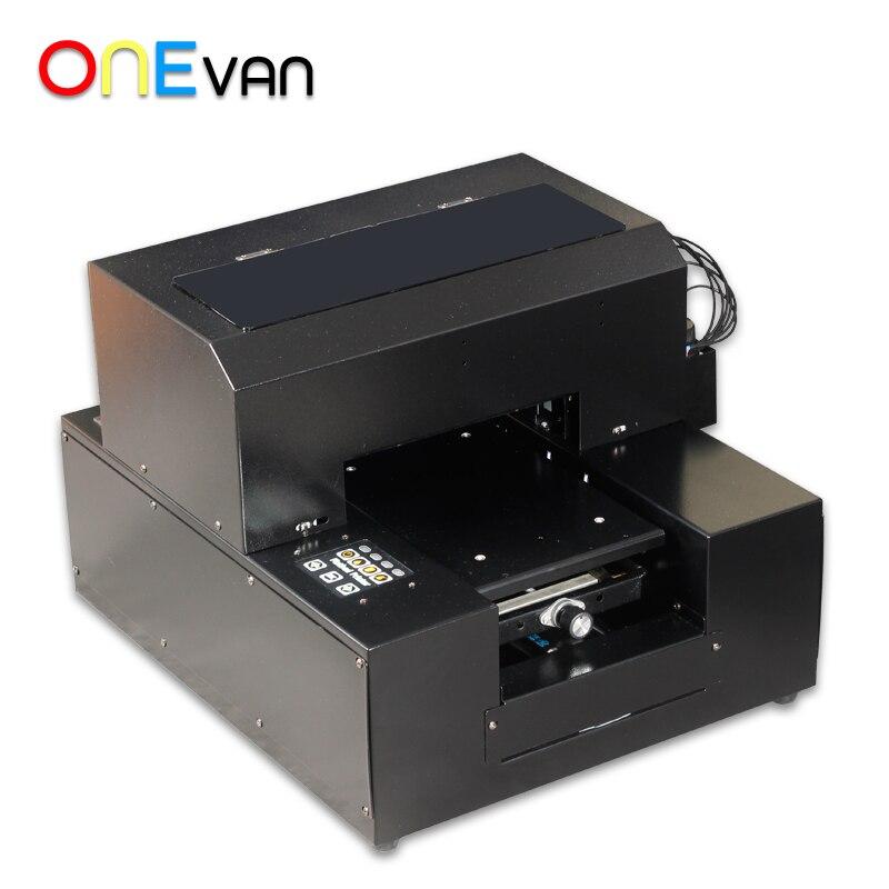 ONEVAN. УФ мобильный телефон оболочка принтер, A4 размер цифровой плоский гравировальный станок, рельефный эффект печати чехол для мобильного