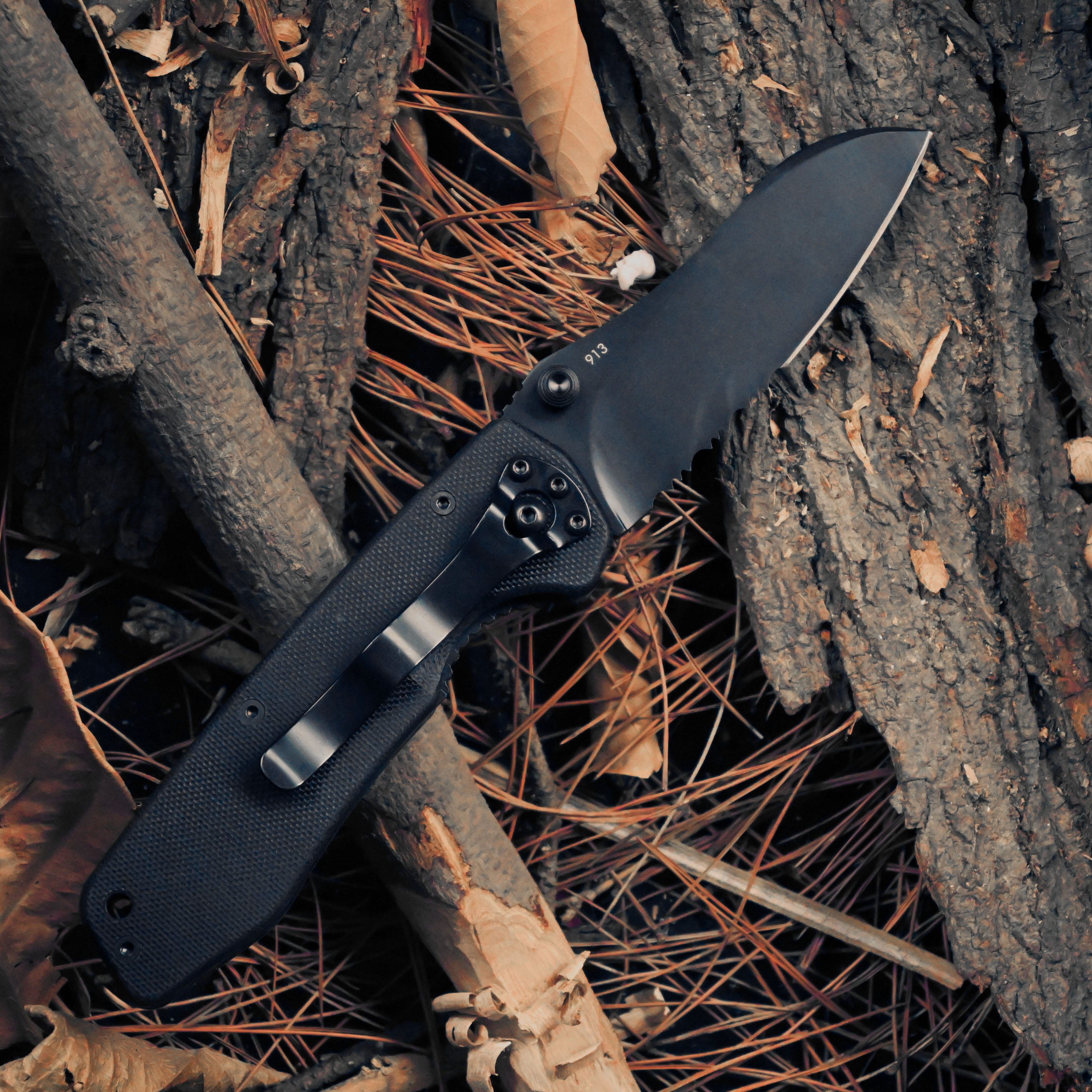 Knife Military Land Blade Outdoor 8C14 913P Camping Handle Tactical MultiTool Survival G10 Utility Folding New